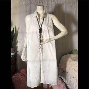 ALFANI BRIGHT WHITE STYLE DRESS